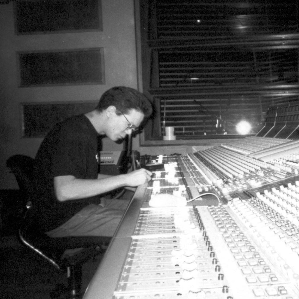 Adrian Hall mixing